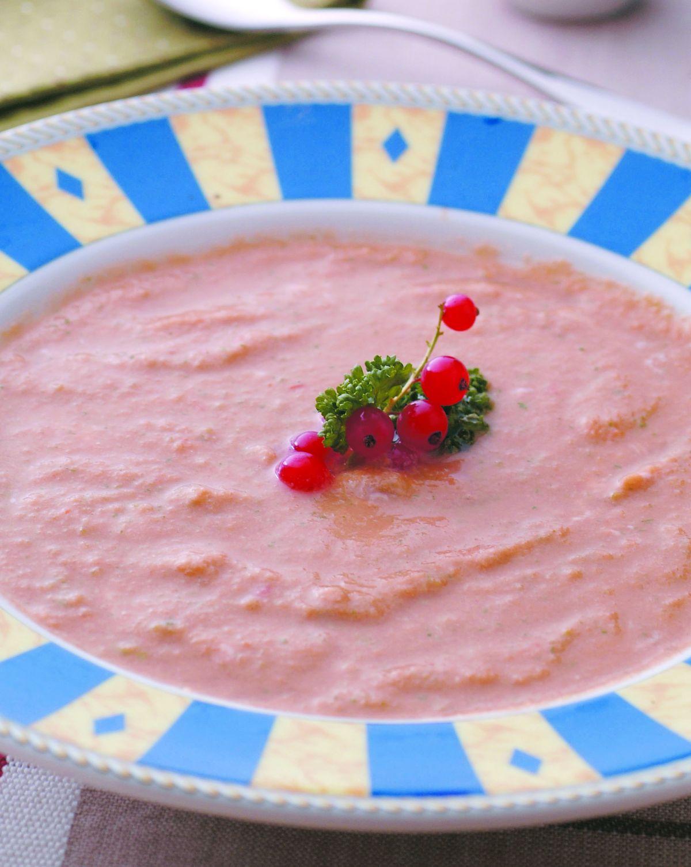 食譜:菜蕃茄冷湯