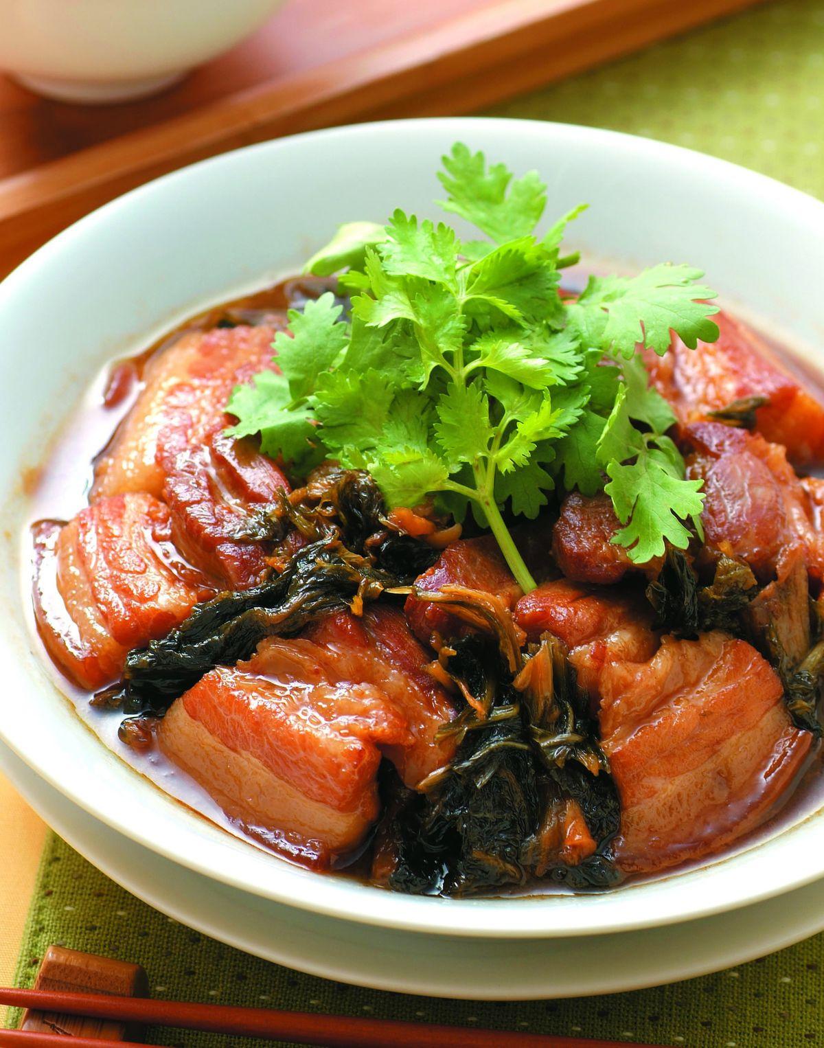 食譜:梅干扣肉(7)