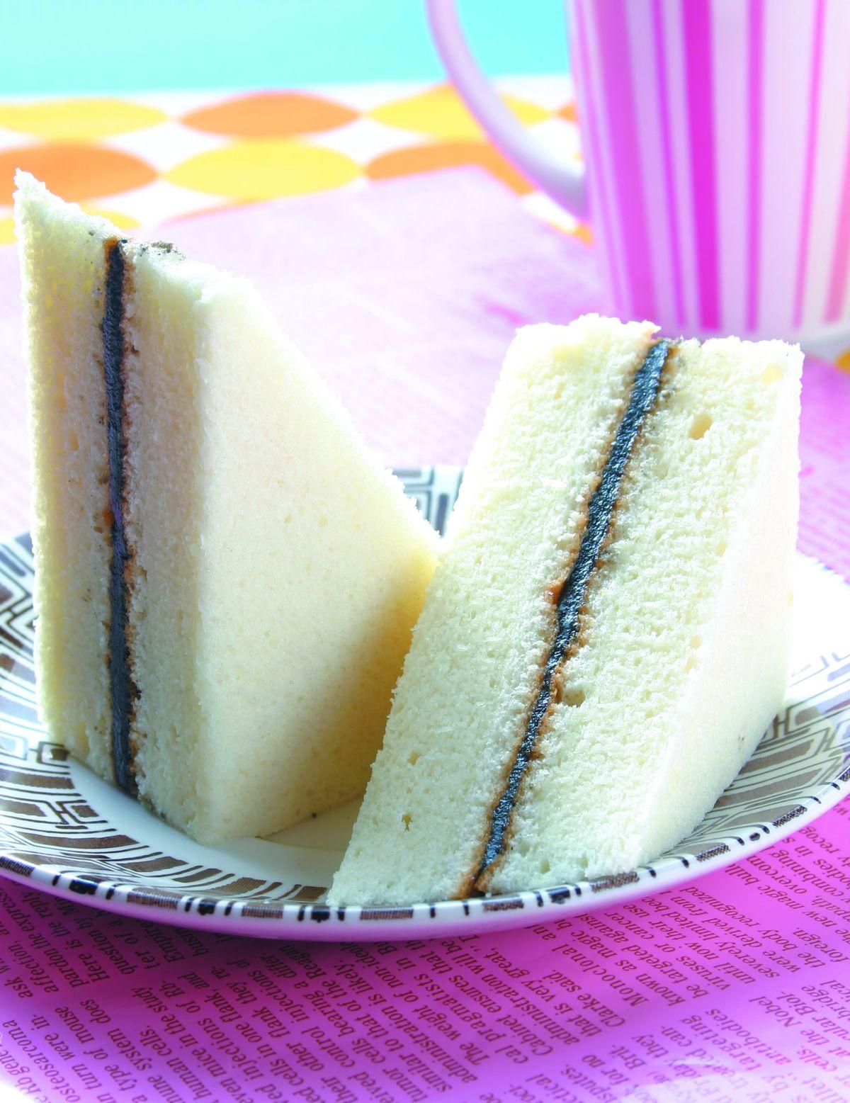 食譜:芝麻豆腐蛋糕(1)