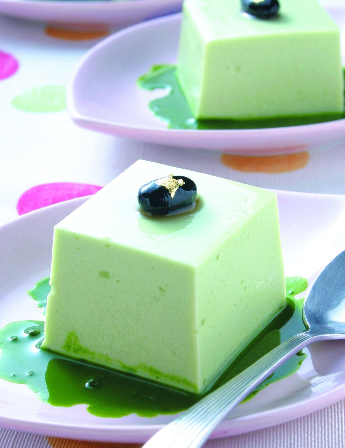 食譜:抹茶豆腐奶凍