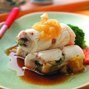 海菜鱺魚捲
