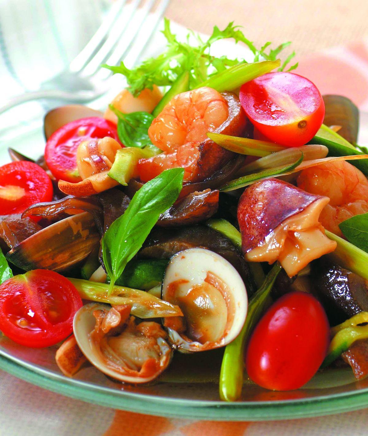 食譜:台式涼拌什錦海鮮