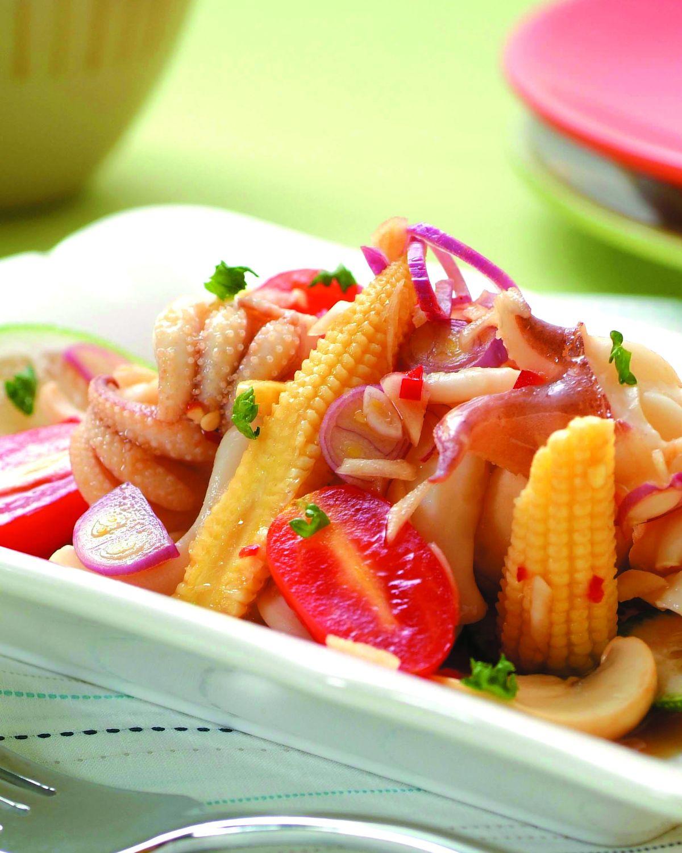 食譜:泰式鮮蔬墨魚