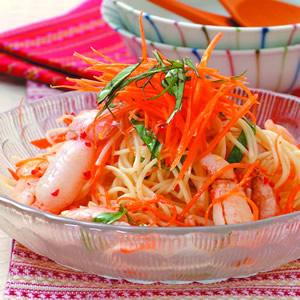 泰式蟹肉涼麵
