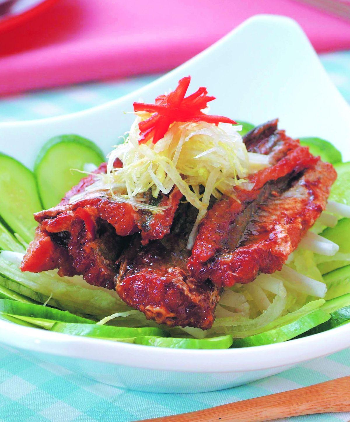 食譜:鰻魚銀芽沙拉