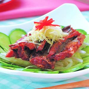 鰻魚銀芽沙拉