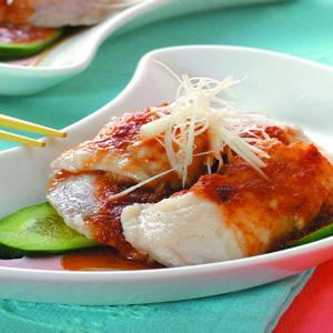 中式涼拌魚片