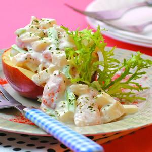 蟹肉香蘋洋芋沙拉