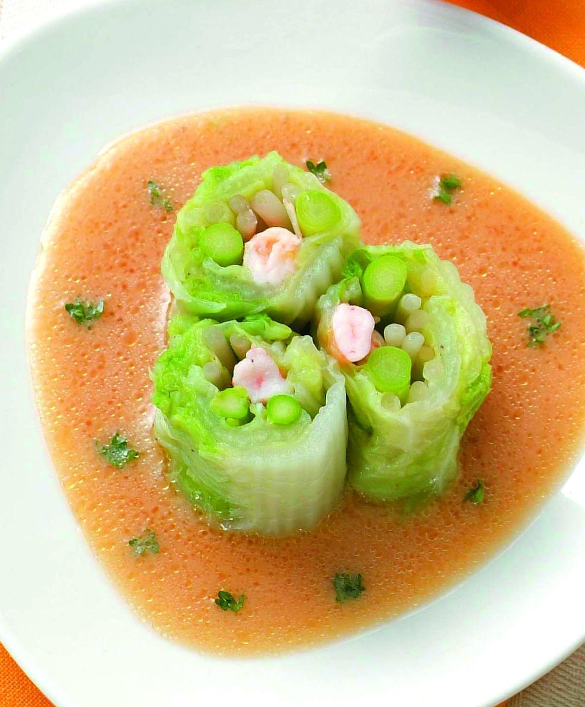 食譜:日式翠玉鮮蝦沙拉