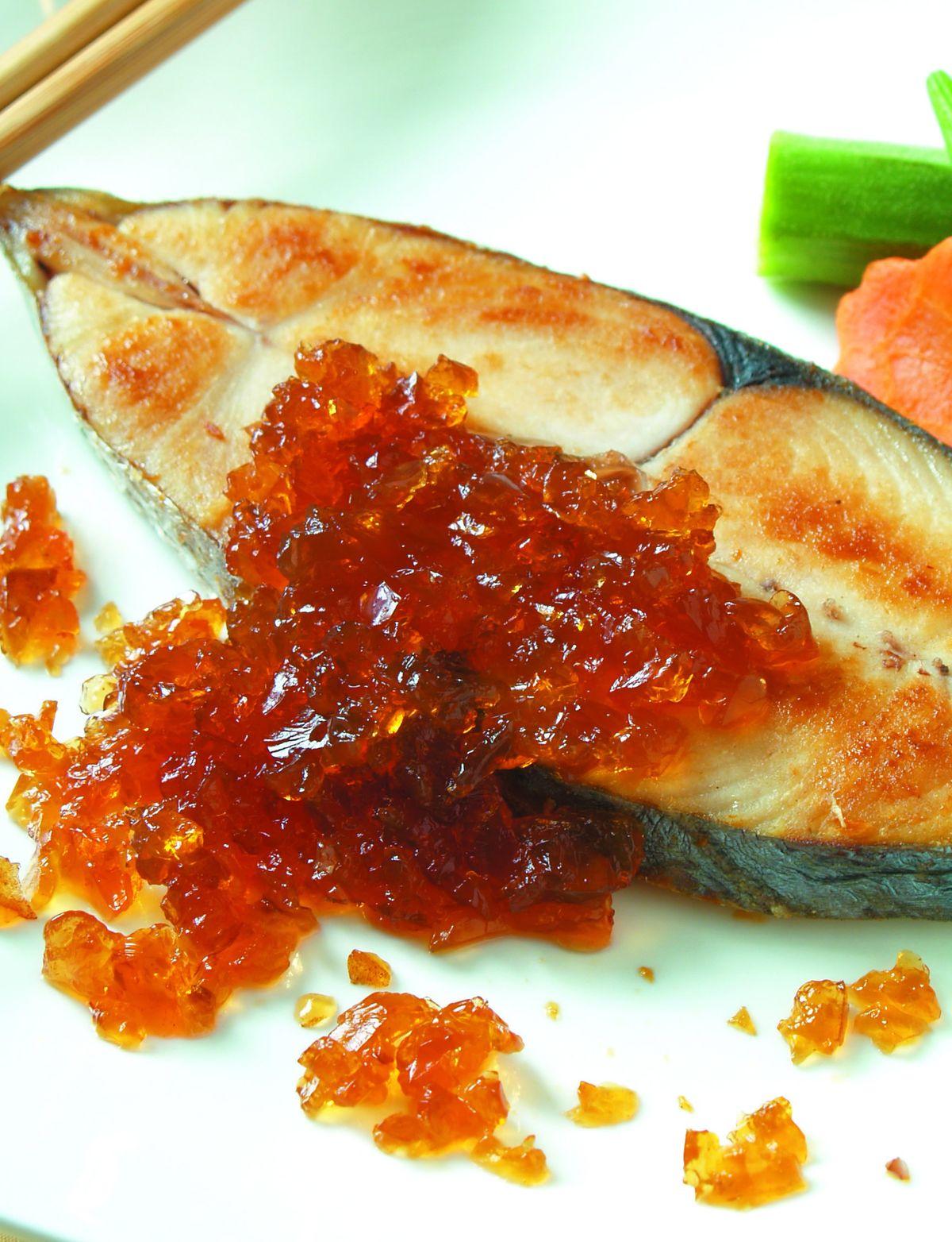 食譜:寒天醋凍佐鮮魚