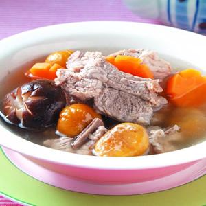 栗子排骨湯