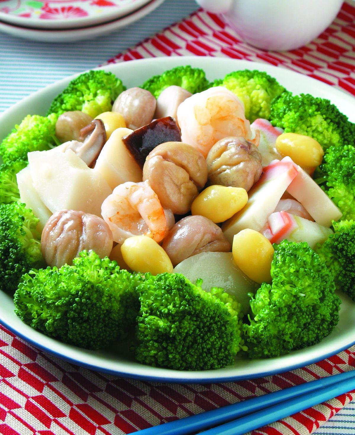 食譜:栗子燴綠竹筍