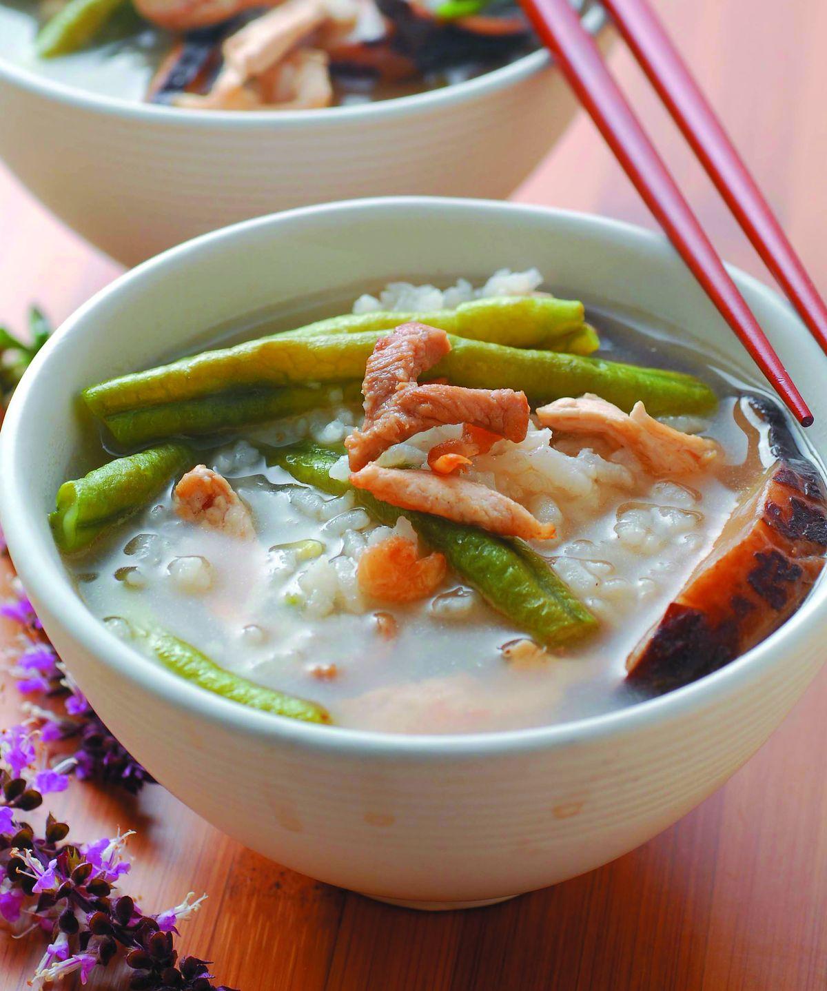 食譜:長豆粥