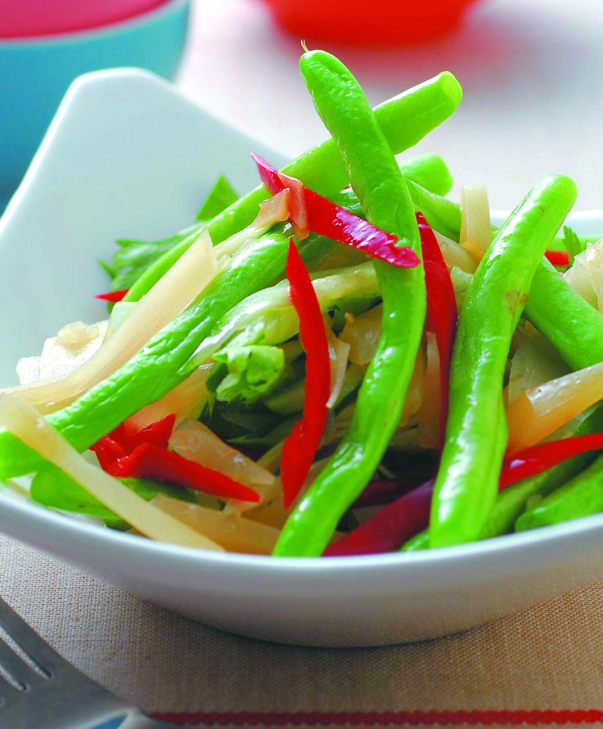 食譜:涼拌四季豆(4)