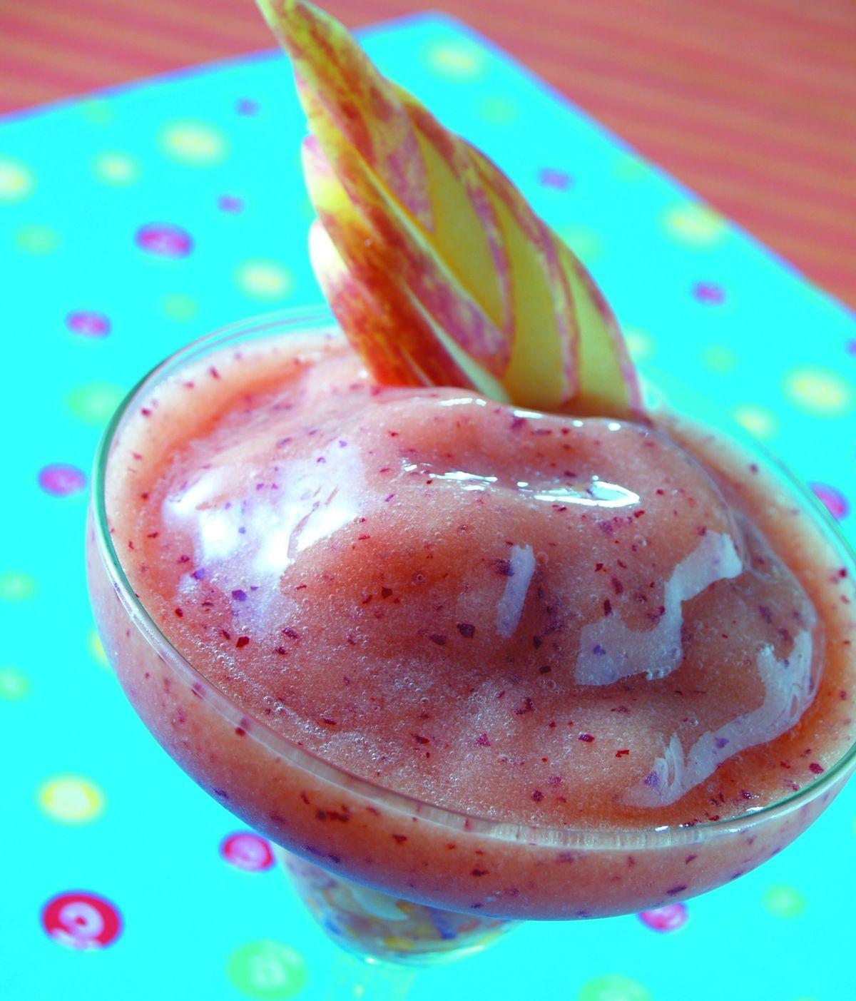 食譜:紅甜桃冰砂