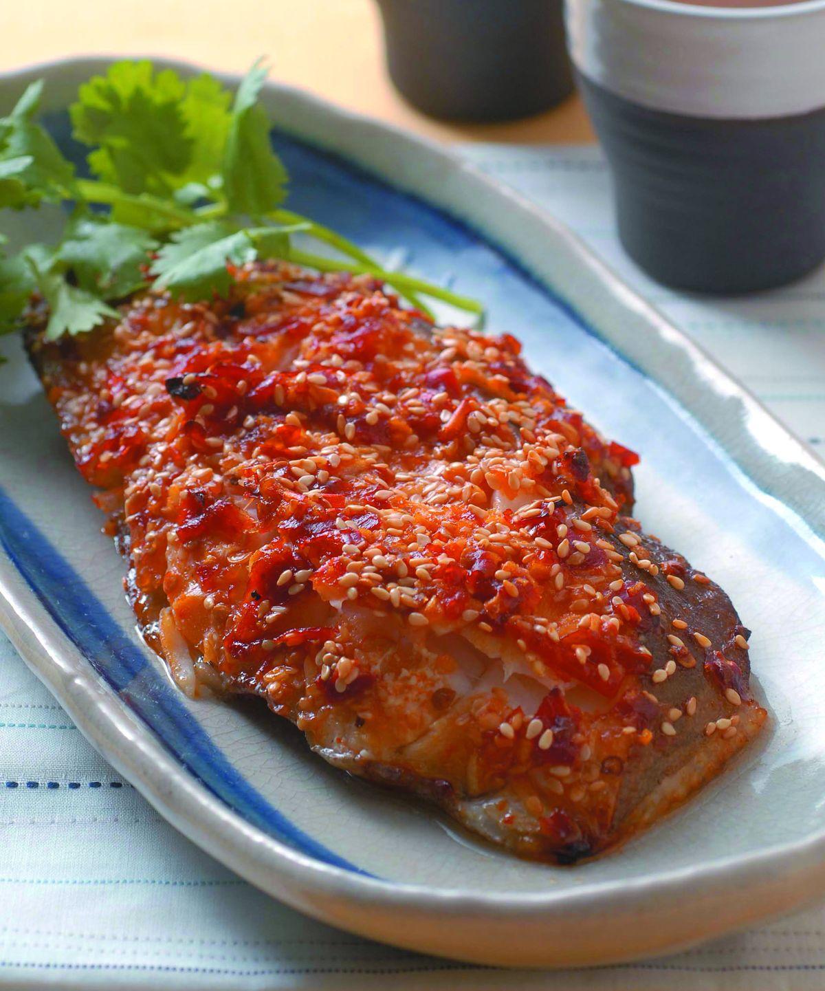 食譜:烤鱈魚片