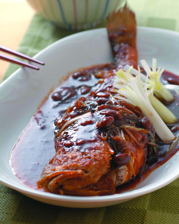 食譜:薑味燒黃魚
