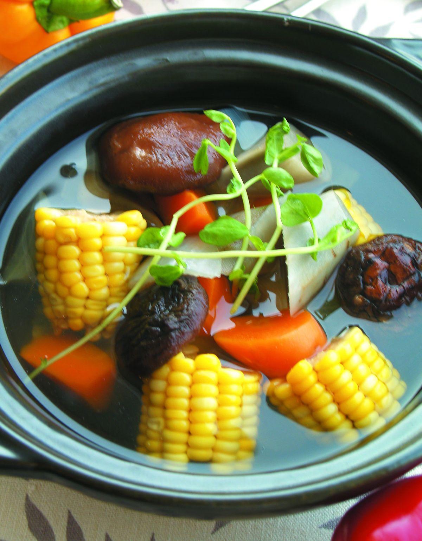 食譜:菌菇牛蒡湯