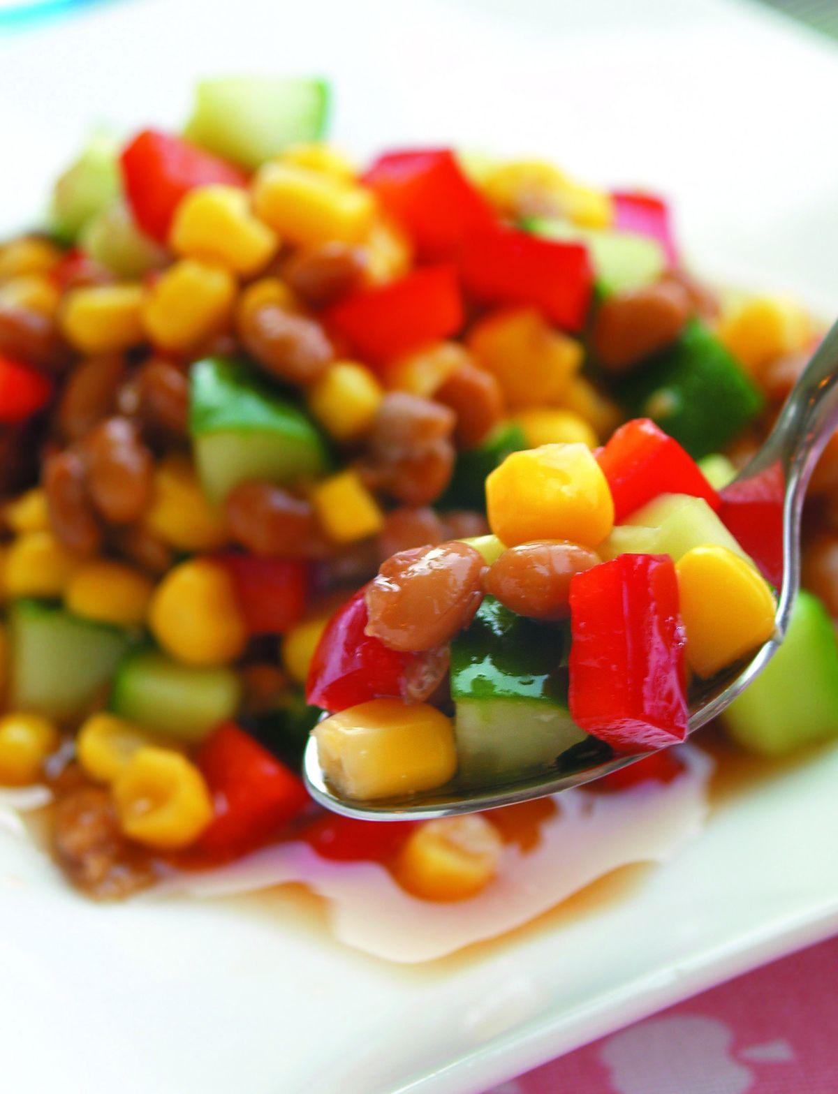 食譜:梅醋納豆