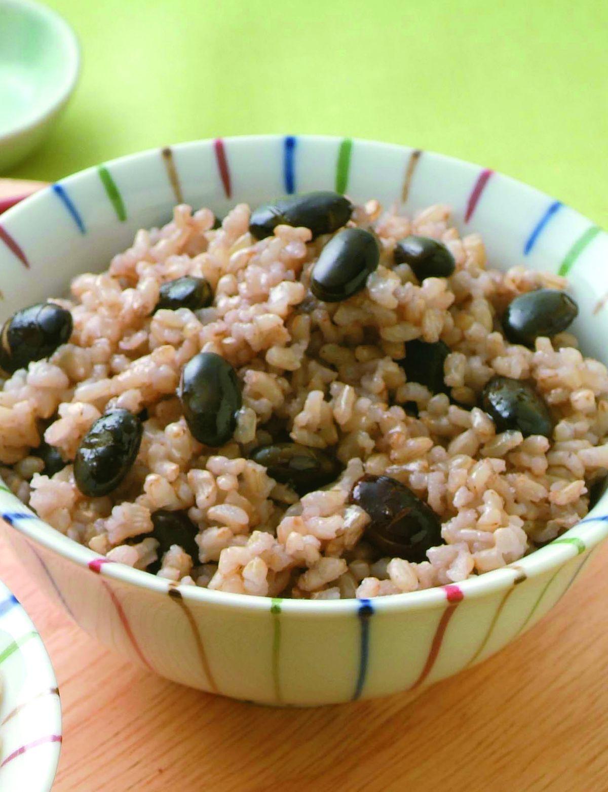 食譜:黑豆發芽米飯
