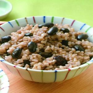黑豆發芽米飯