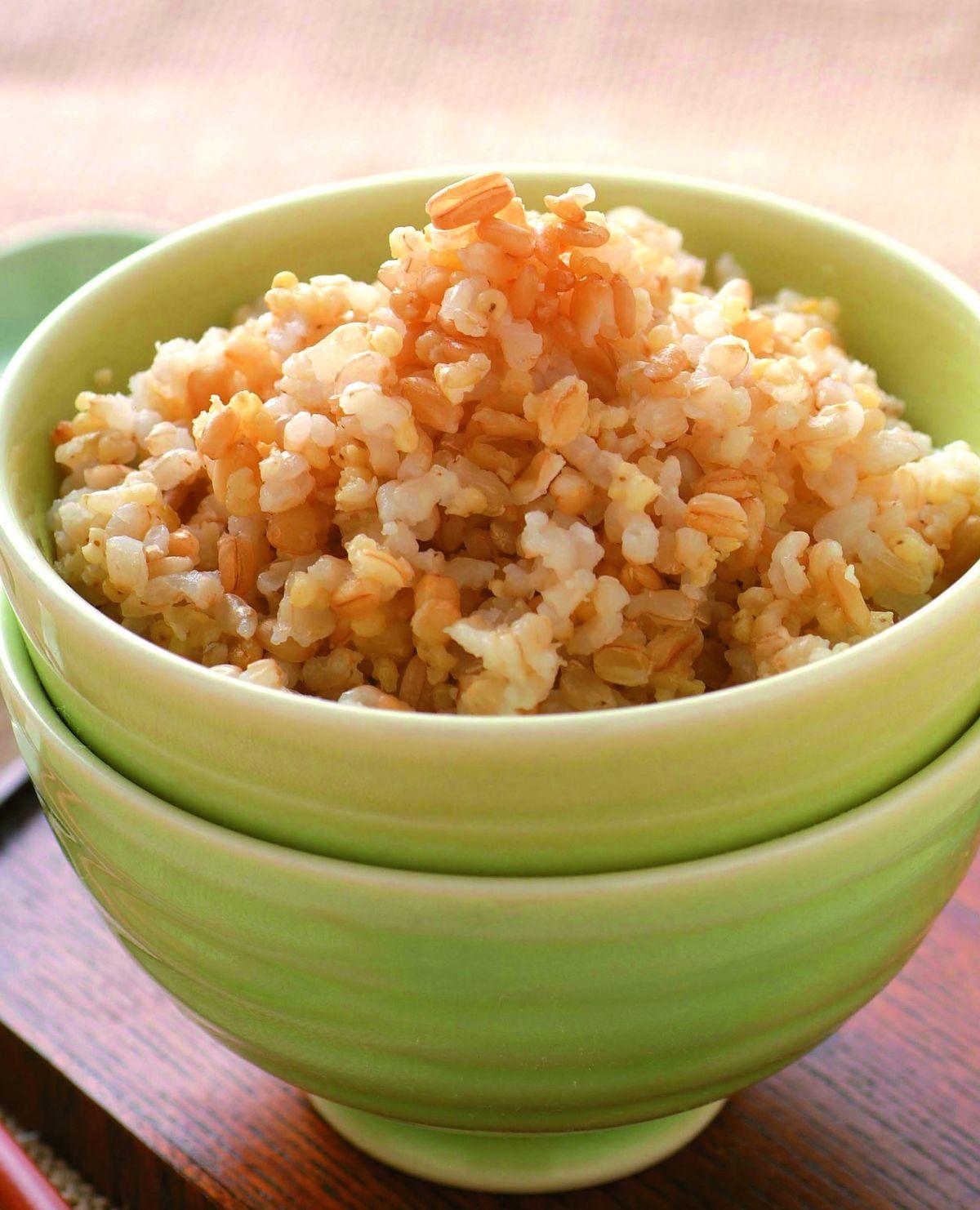 食譜:燕麥小米飯