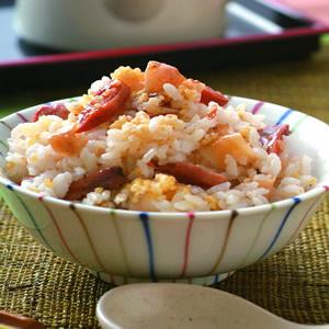 百合柿乾飯
