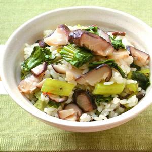 香菇青菜飯