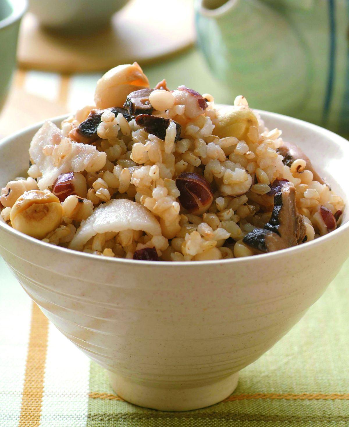 食譜:四神糙米飯
