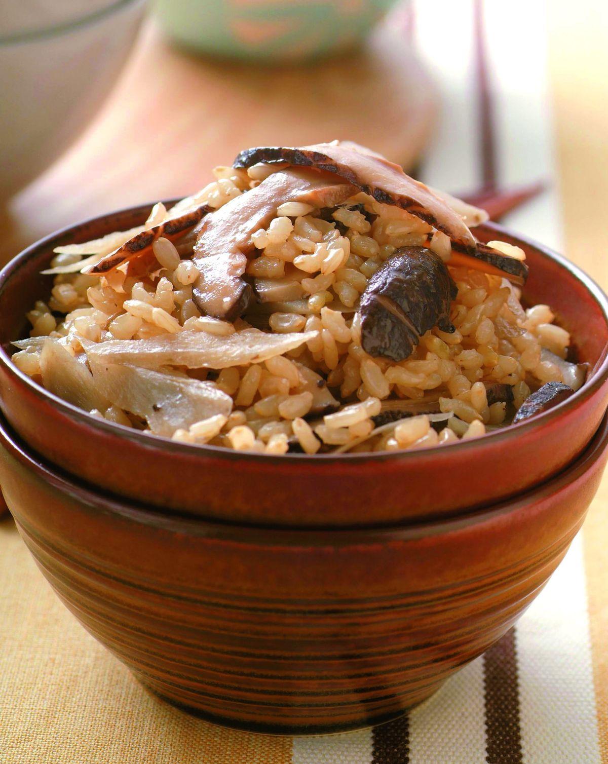 食譜:牛蒡香菇飯
