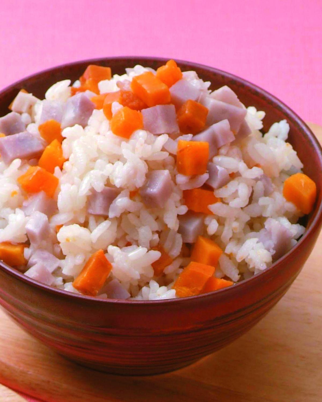 食譜:芋頭地瓜飯