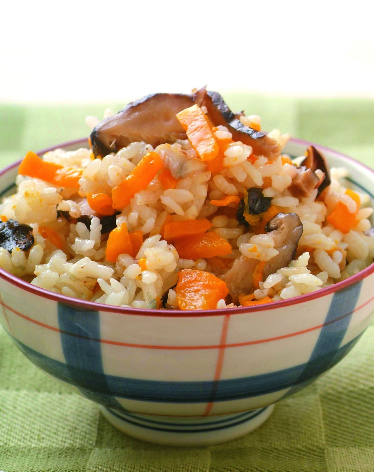 食譜:香菇南瓜飯