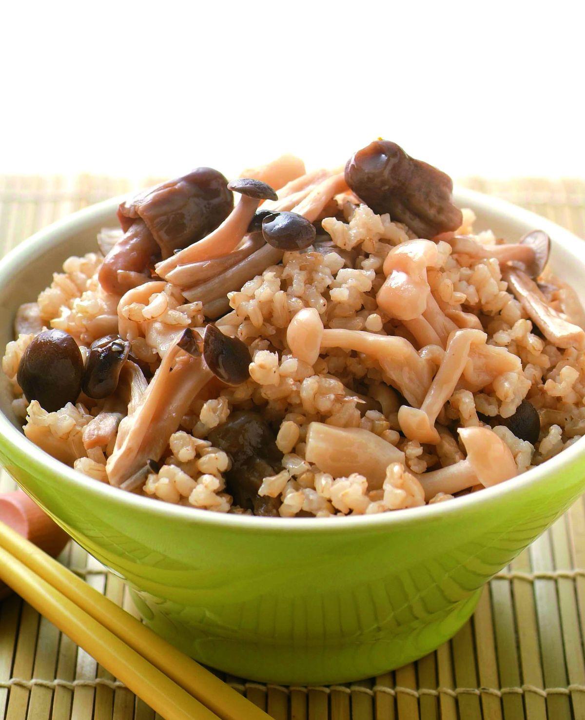 食譜:雜菇養生飯