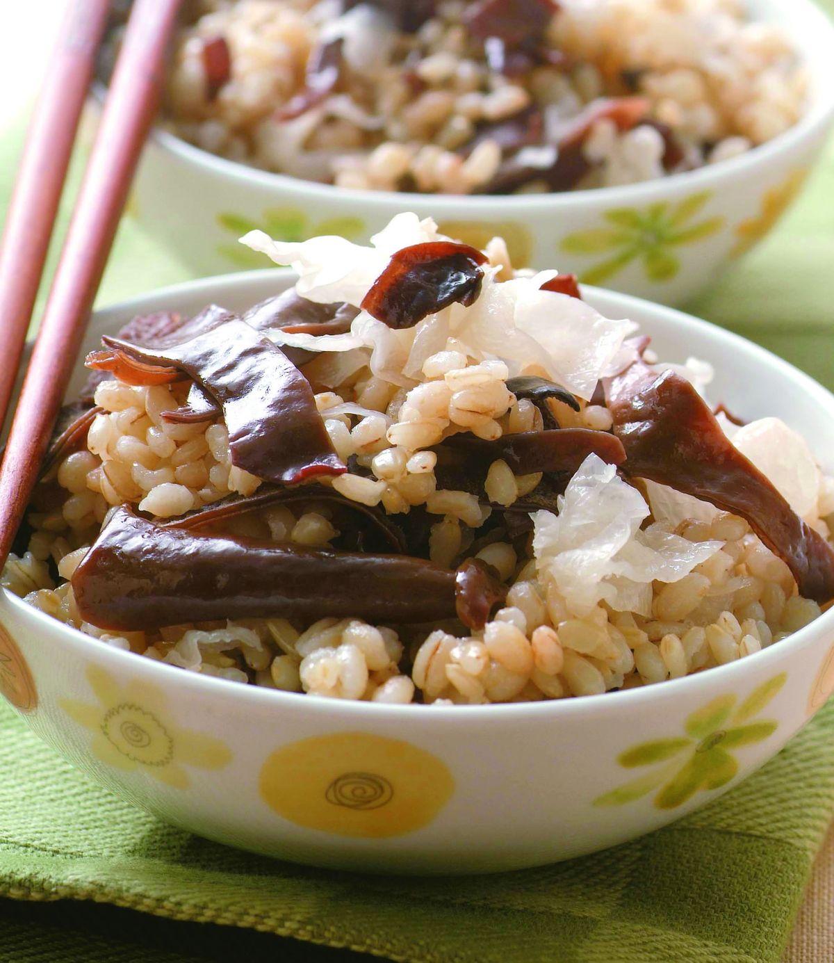 食譜:雙耳糙米飯