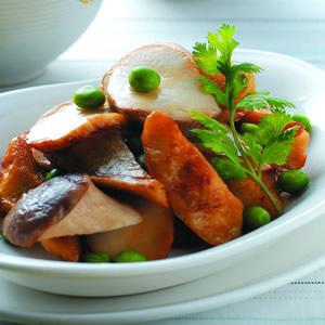 杏鮑菇炒筍