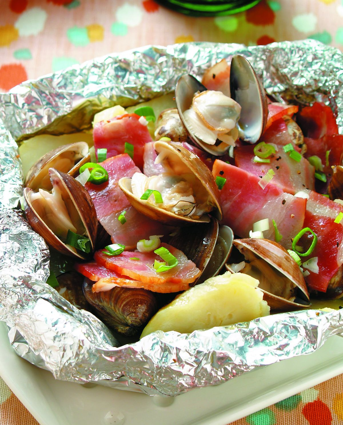 食譜:蛤蜊奶油鋁燒