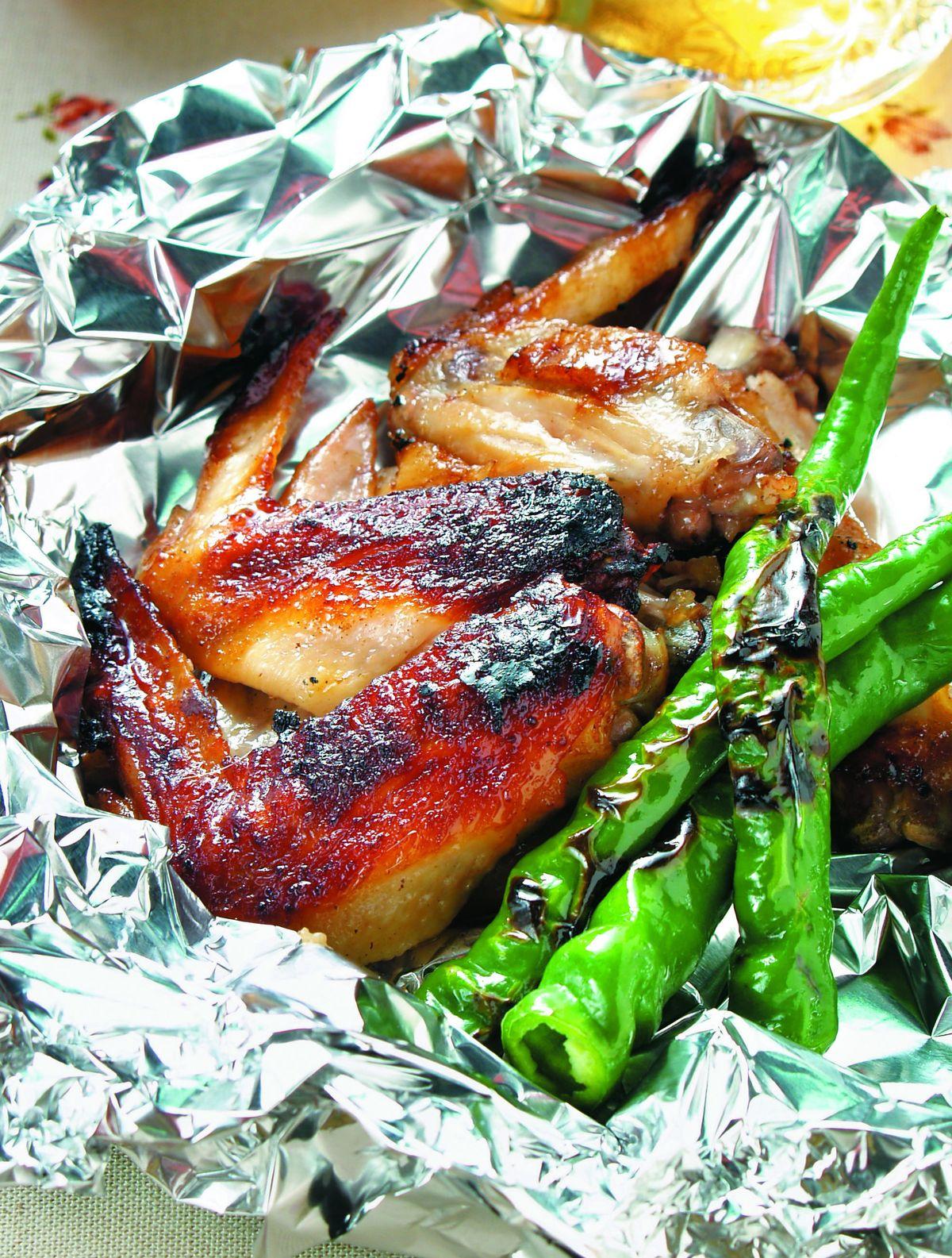 食譜:鋁燒-烤雞翅