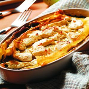 乳酪茄泥千層麵