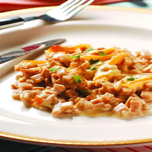 焗寬扁義大利麵