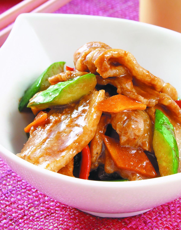 食譜:醬爆肉片(1)