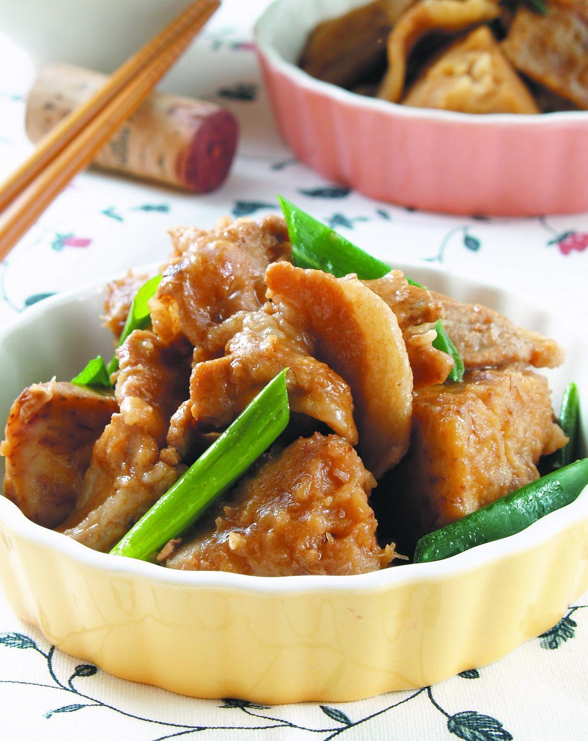 食譜:芋香燒肉