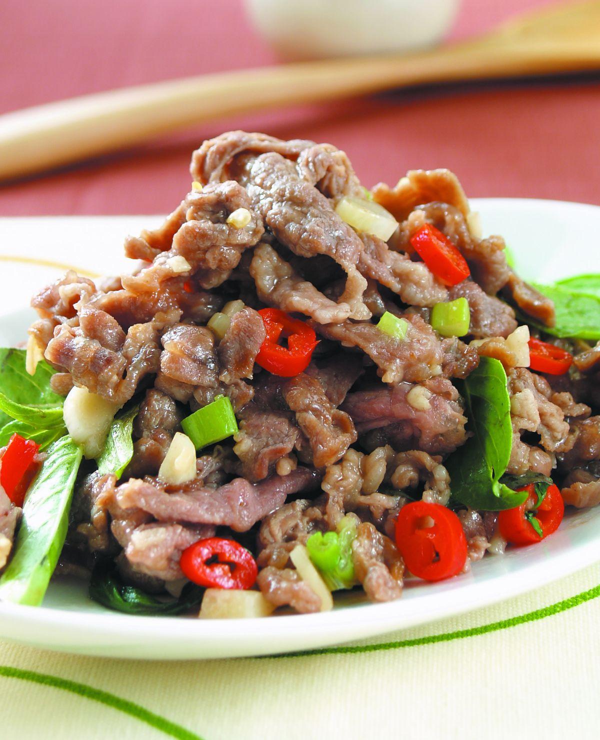 食譜:塔香羊肉