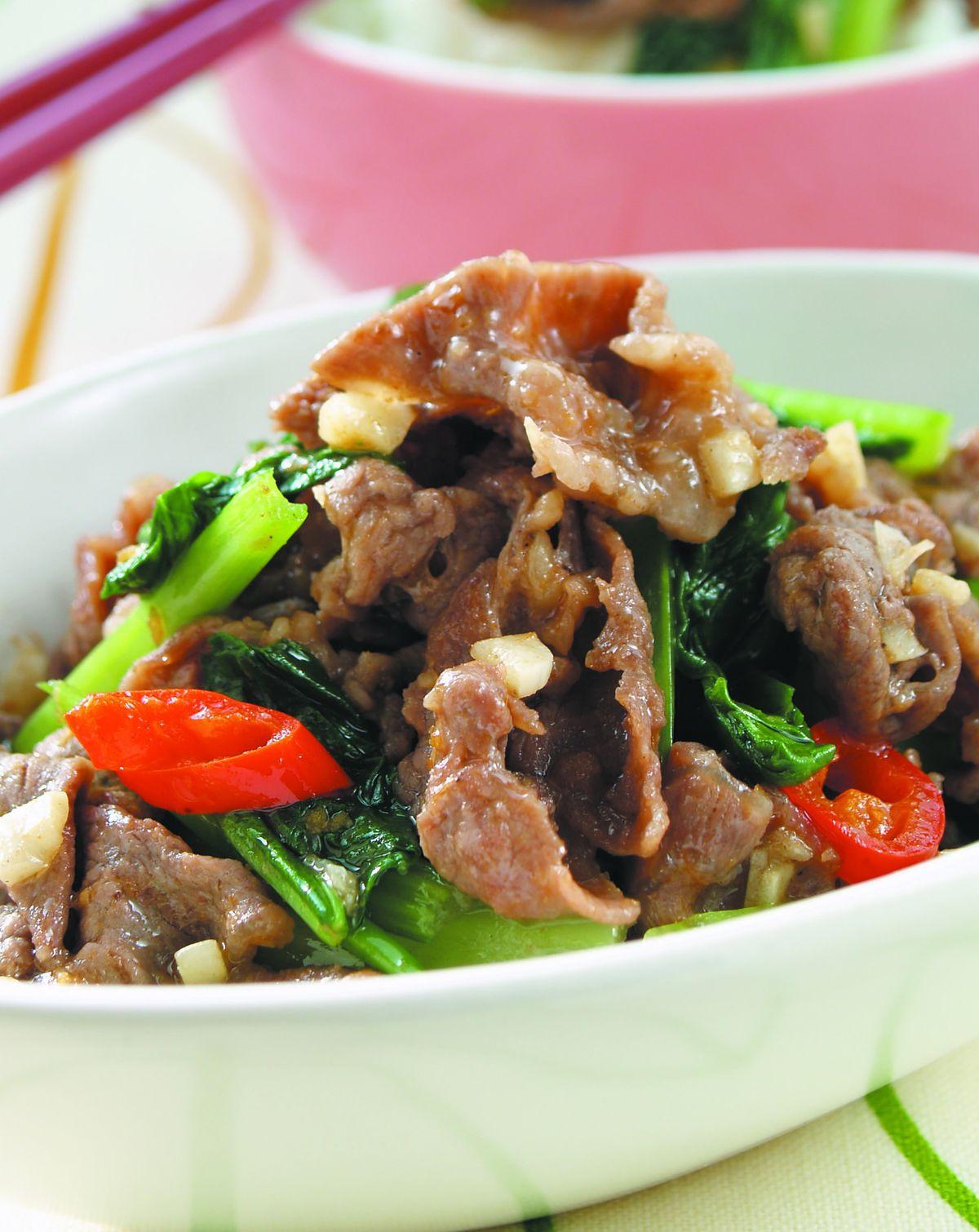 食譜:沙茶牛肉(8)