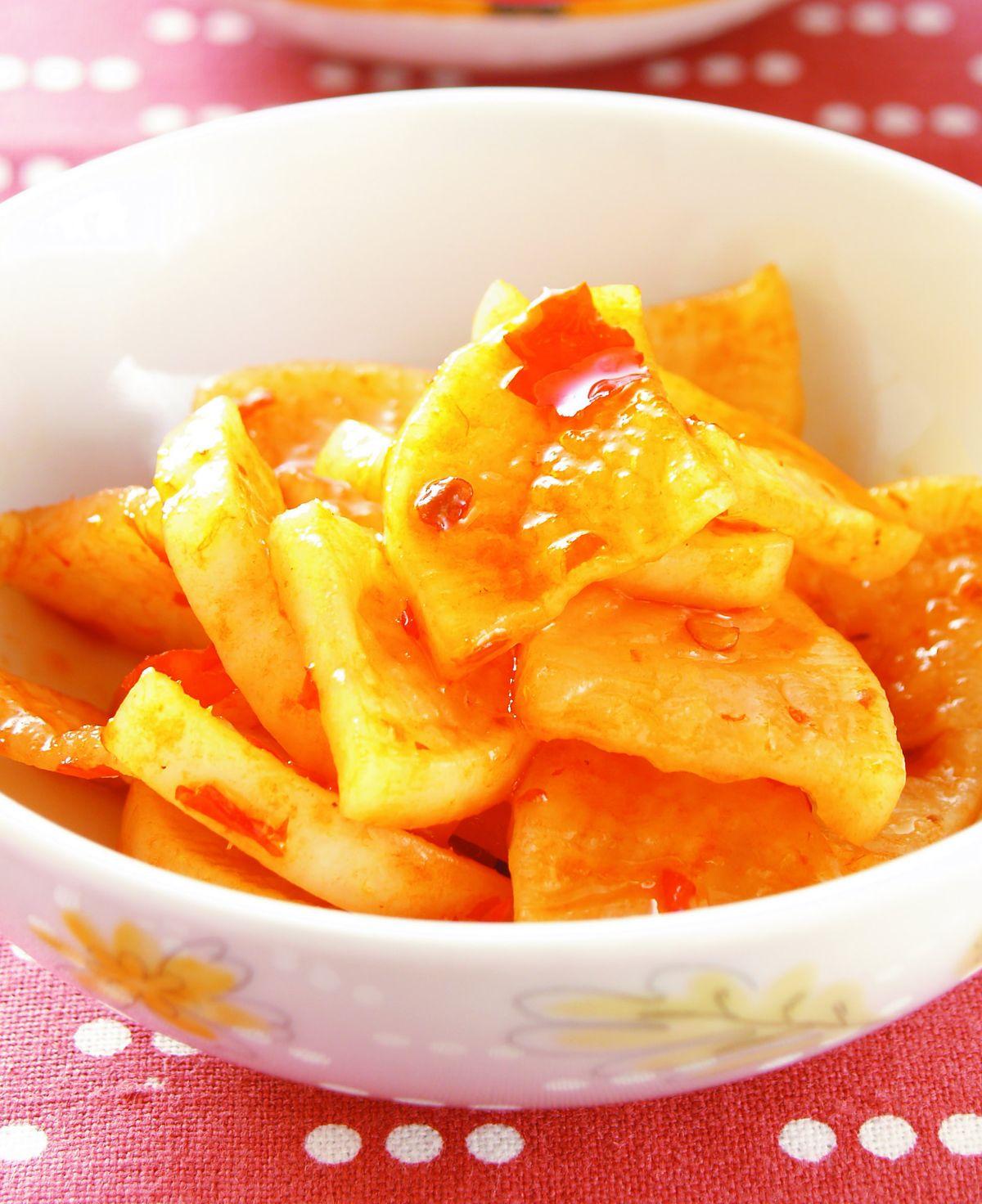 食譜:醃蘿蔔