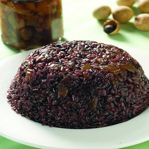 桂圓紫米糕