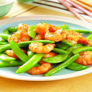 甜豆炒蝦仁(1)
