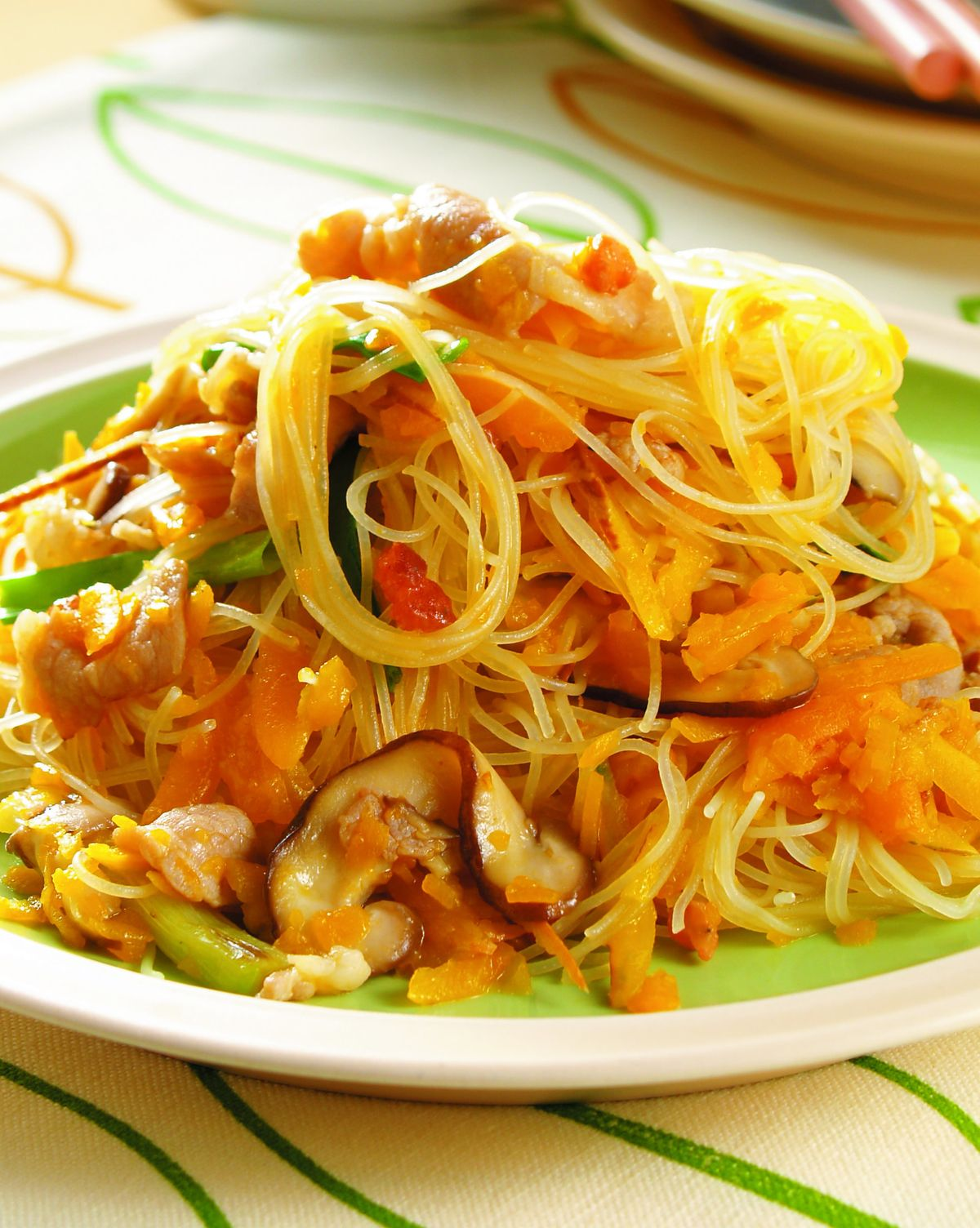 食譜:南瓜炒米粉(2)