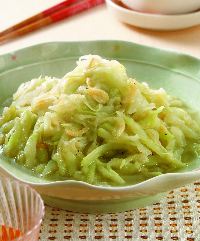 食譜:瓢瓜炒蝦皮