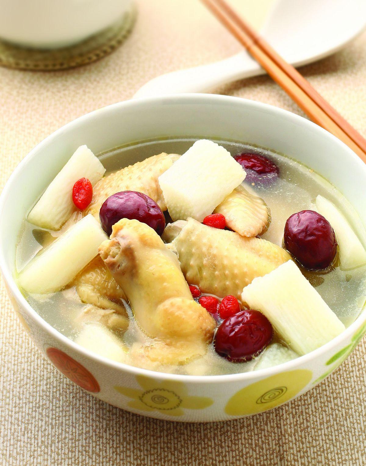 食譜:山藥雞湯(1)