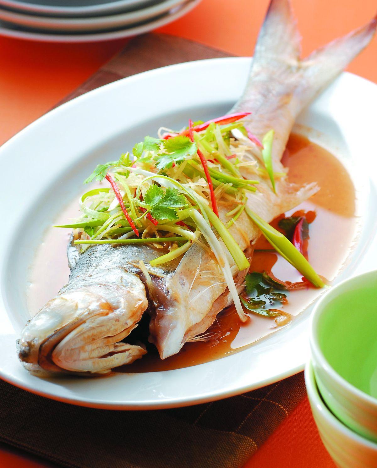 食譜:蒸鮮魚